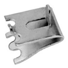 Zinc Plated Steel Pilaster Clip For Shelving