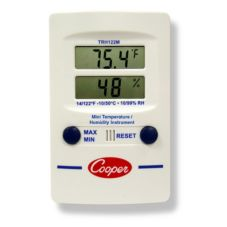 Cooper Atkins 14°-140°F Mini Digital Thermometer w/ Hygrometer