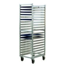 New Age Industrial 1306 Aluminum Wide Angle Rack with Twenty Slides