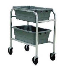 New Age Industrial 1266 HD Aluminum Two-Shelf Lug Dolly