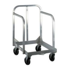 New Age 1193 Single Tier Sheet Pan Dolly with Sides and Handle