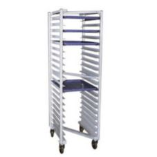 "New Age 1331Z ""Z"" Type Nesting Open-Sided 20-Pan Rack"