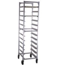 New Age NS832 Full Height Mobile End Loading Tray Rack for (12) Trays