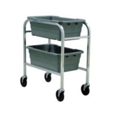 "New Age 1266CL 12-3/4 x 33 x 28"" Lug Dolly with Locking Casters"