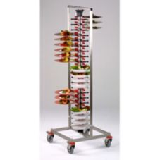 Plate-Mate PM84-120 Standard Mobile 84 Plate Rack
