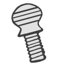 Redco® 369211 Tomato Pro™ Replacement Pivot Arm Screw