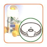Sunkist® Plastic Bowl Support for Commercial Juicer