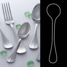 "Steelite 5300S015 Baguette S/S 5-1/2"" Oyster Spoon - Dozen"