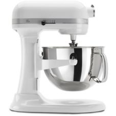 KitchenAid® 600™ Series White Stand Mixer