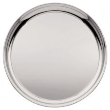 "Oneida® J0015271A Noblesse Round S/S 16"" Tray"