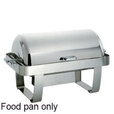 Oneida Full Size Food Pan for Noblesse Oblong 8 Qt Rolltop Chafer