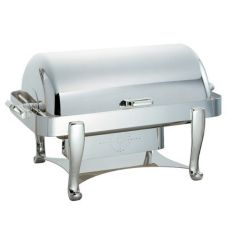 Oneida® J0060001 Ouverture Oblong 8 Qt S/S Roll Top Chafer
