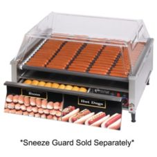 Star® 75SCBDE Grill-Max® Roller Grill with 75-Bun Drawer