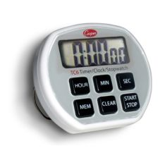 Cooper Atkins Digital Timer / Clock / Stopwatch w/ Splashproof Case