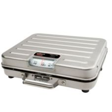 Rubbermaid FGP250SS S/S Briefcase Style 250 lb Receiving Scale
