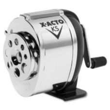 Corporate Express 116475 Black Screw Mount Pencil Sharpener