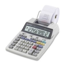 Sharp SHREL1750V LCD 2-Line 12 Digit Printing Calculator