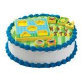 Bakery Crafts CK-374C Sesame Street Shape Sorter Cake Kit - 6 / BX