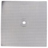 Permafil 317500CENTER Alum. 13 x 13 Baffle Insert With 7/8 Center Hole