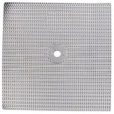 Aluminum Baffle Insert w/ 7/8 Center Hole, 13 x 13