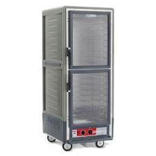 Metro Full Ht. C5 3 Heated Holding Cabinet W/Grey Armour