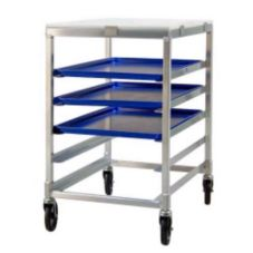 New Age Industrial 95958 Aluminum Half-Size Mobile Bakery Pan Rack