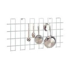 "SPG International HDG2448C Chromate 24"" x 47"" Wall Grid For Utensils"