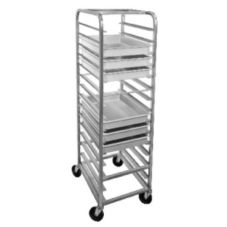 Channel RB-4 Aluminum Pizza / Dough Box Rack for 15 Pans