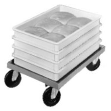 "Aluminum Pizza Dough Box Dolly, 18"" x 25"" x 8"""
