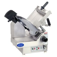 Globe Food 2-Speed Automatic Frozen Meat Slicer w/ Serrated Knife