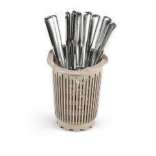 Vollrath 1370 Traex® Beige Flatware Cylinder