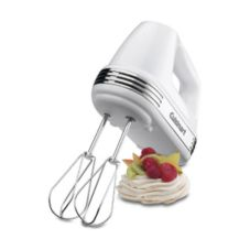 Cuisinart® White 7 Speed Hand Mixer