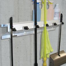 "Ex-Cell The Clincher™ 34"" Mop and Broom Holder"