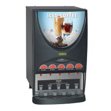 BUNN® 37000.0002 iMIX® Iced Coffee Dispenser with 5 Hoppers
