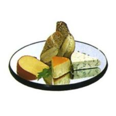 Lakeside® Geneva Mirrored Round Display Tray, 28""