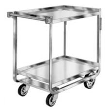 Lakeside® S/S 1000 lb Capacity 2-Shelf Utility Cart