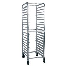 Win-Holt® AL-1820B Heavy Duty Aluminum 20-Bun Pan Rack
