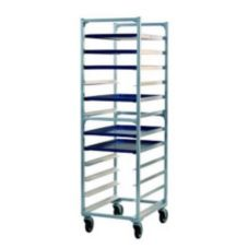 New Age 1333KD Aluminum End Loading 12 Pan Capacity Bun Pan Rack