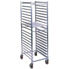 Win-Holt® AL-1820BKD/HD Aluminum Knock Down 20-Bun Pan Rack