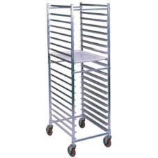 Win-Holt® AL-1820BKD/HD Aluminum Knock Down 20-Bun Pan Rack