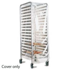 "Marko® 5675CL Clear Large 22"" x 32"" x 61"" Pan Rack Cover"