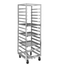 Channel 403A Aluminum Front Loading 12-Bun Pan Rack