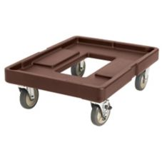 Cambro® CD400131 Dark Brown Pan Carrier Camdolly without Handle