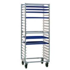 New Age 1331SKD Aluminum Side Loading 20 Pan Capacity Bun Pan Rack