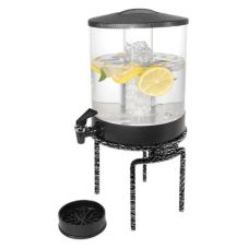 Gourmet Display Juice Dispenser w. Wrought Iron Stand