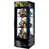 True G4SM-23FC-LD Copper 1-Swing Door Glass End 23 Cu Ft Floral Case