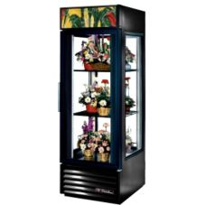 True G4SM-23FC Copper 1-Swing Door Glass End 23 Cu Ft Floral Case