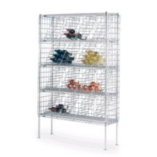 Metro® WB257C Chrome 14 x 48 x 74-3/4 Bulk Storage Wine Shelving