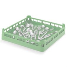 Vollrath® 5267110 Light Green Full Size Flatware Rack