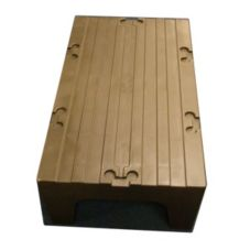 Cambro Dark Brown Solid Top Dunnage Rack
